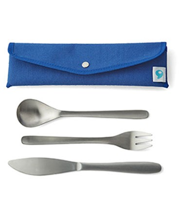 SWELL Cutlery Set - Silver main image