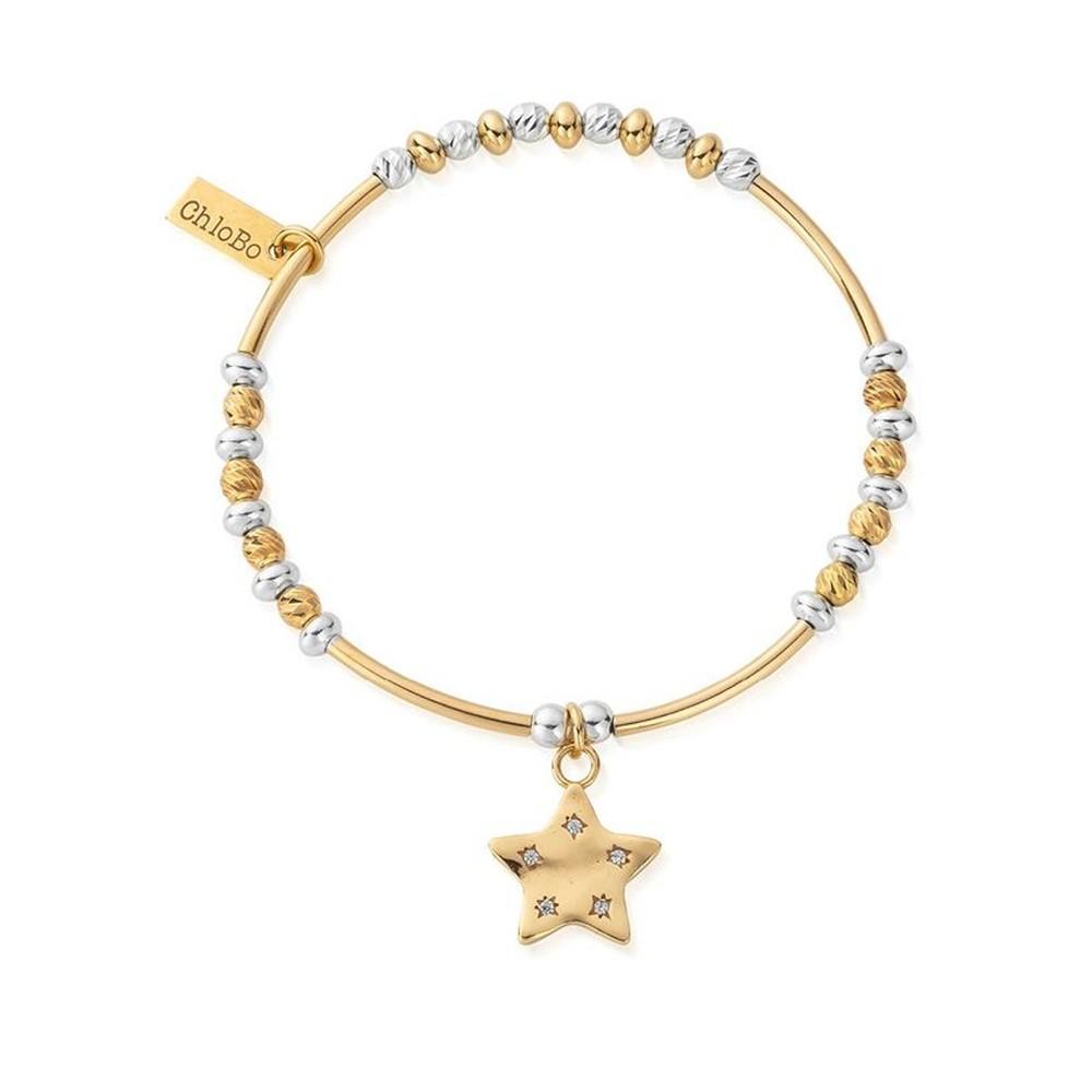 Sparkle Star Bracelet - Gold & Silver