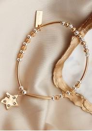ChloBo Sparkle Star Bracelet - Gold & Silver
