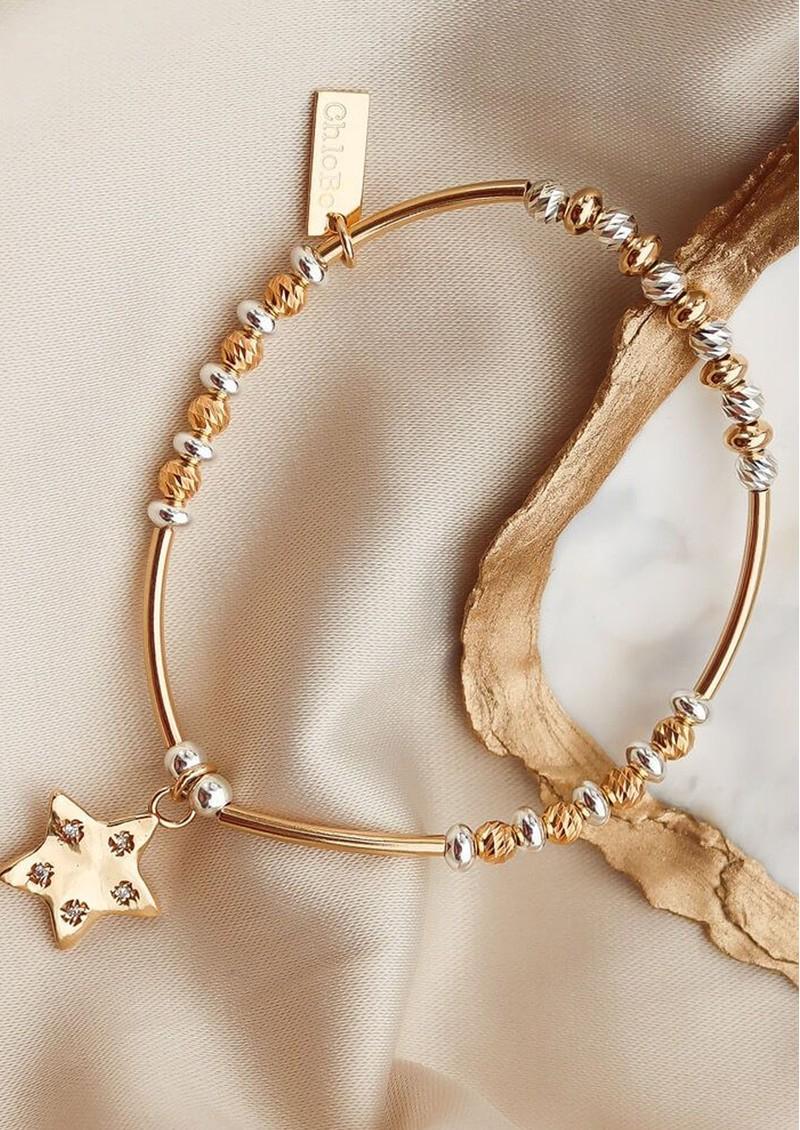 ChloBo Sparkle Star Bracelet - Gold & Silver main image