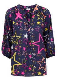 Mercy Delta Clevedon Silk Blouse - Starry Disco