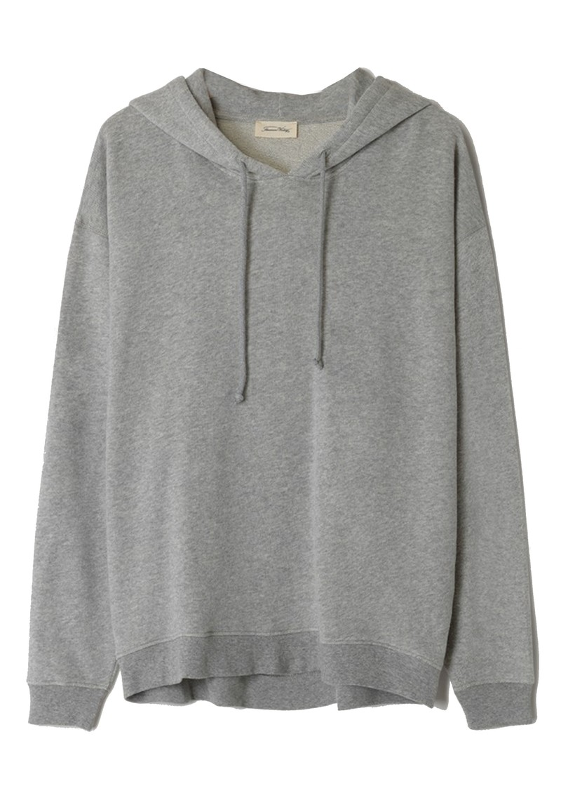 American Vintage Neaford Cotton Hoodie - Grey Melange main image