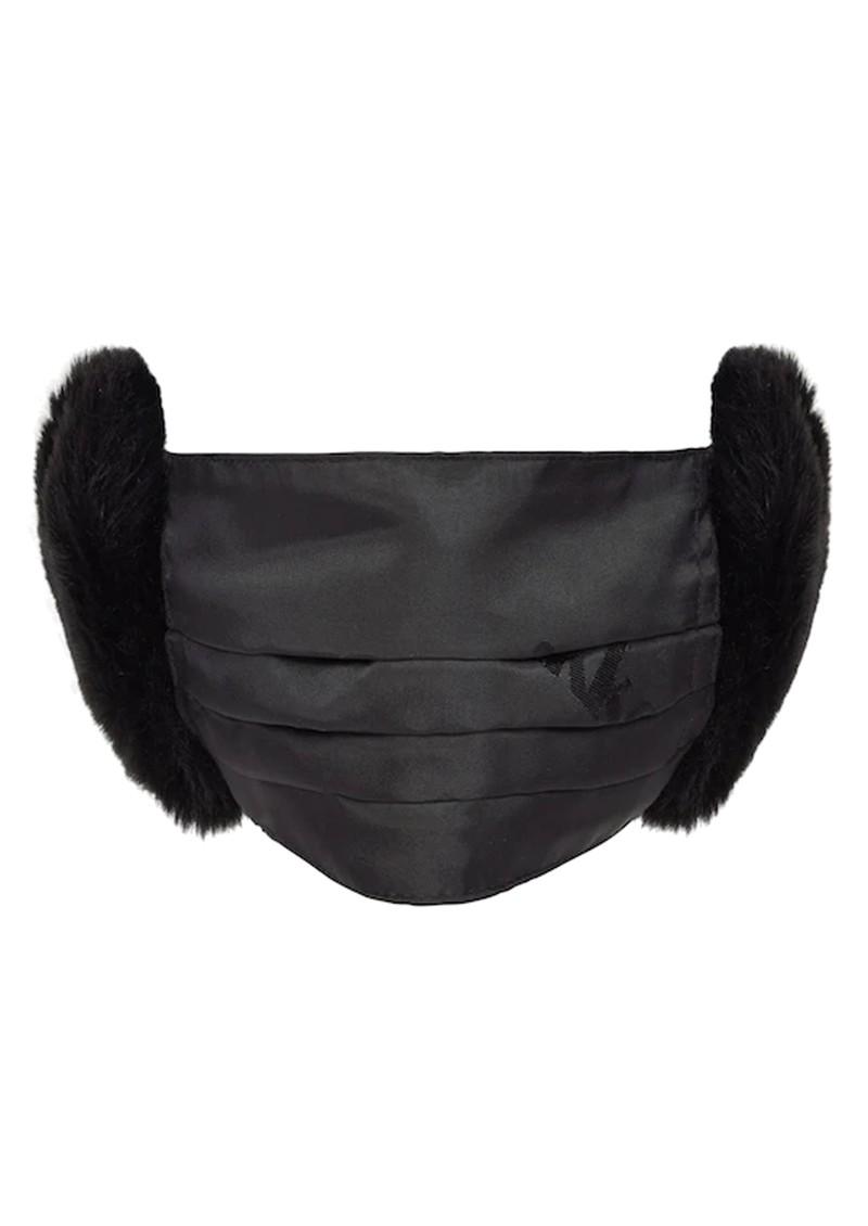JAKKE Felicity Face Mask and Ear Muffs - Black main image