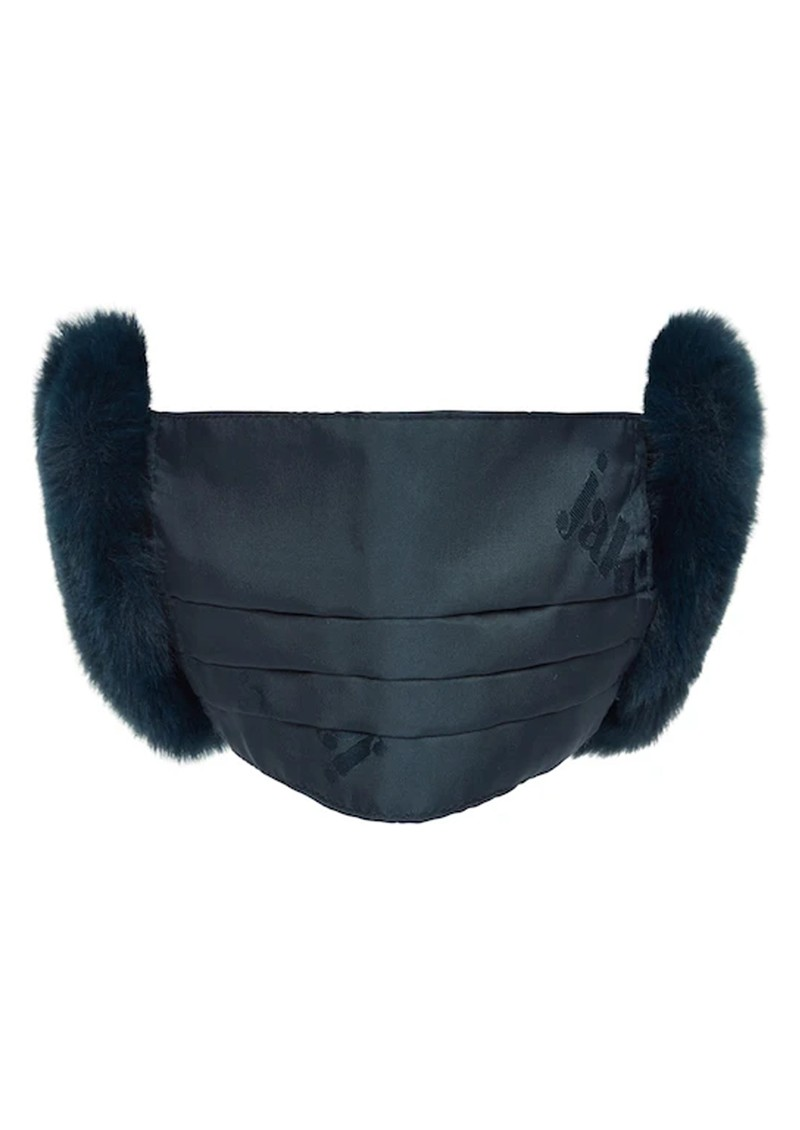 JAKKE Felicity Face Mask and Ear Muffs - Navy main image