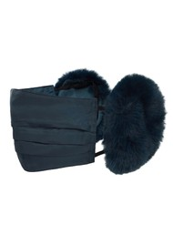 JAKKE Felicity Face Mask and Ear Muffs - Navy