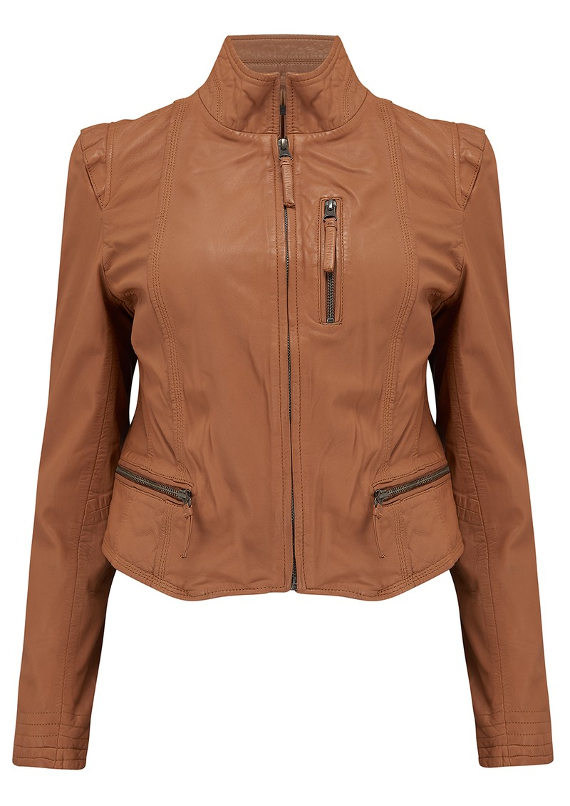 Rucy Leather Jacket - Lion main image