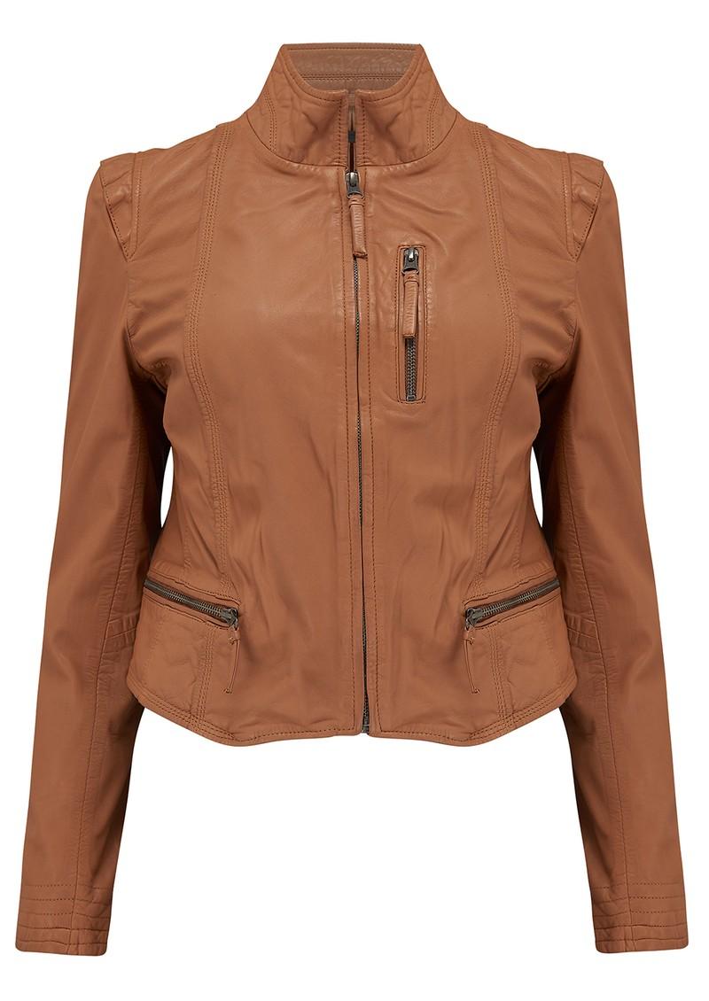 MDK Rucy Leather Jacket - Lion main image