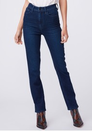 Paige Denim Cindy Ultra High Rise Straight Leg Jeans - NYC