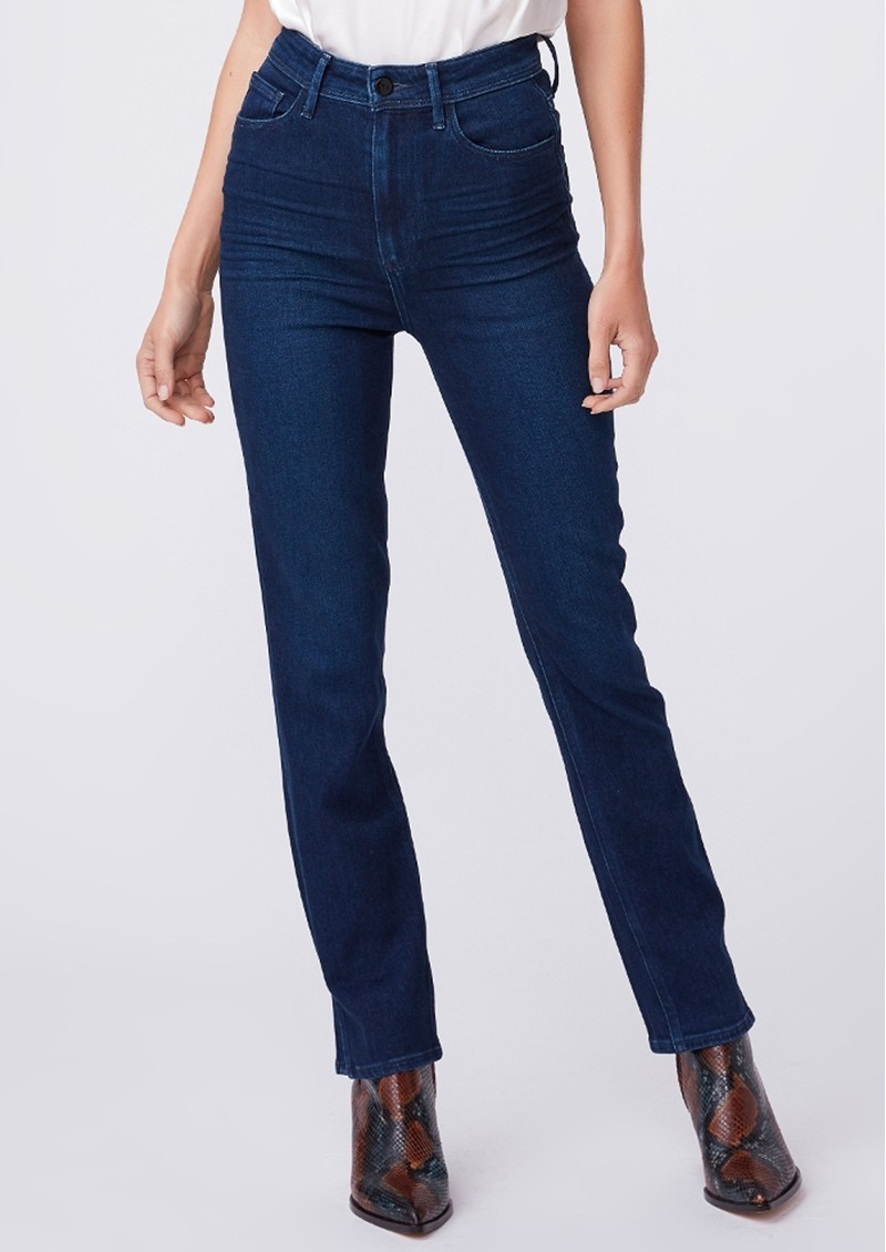 Paige Denim Cindy Ultra High Rise Straight Leg Jeans - NYC main image