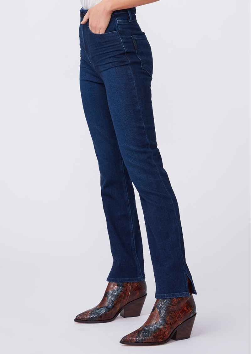 Paige Denim Cindy Ultra High Rise Straight Leg Jeans - NYC main image