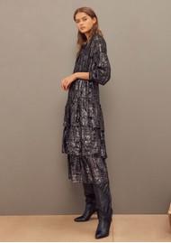 Ba&sh Sophie Silk Mix Dress - Black