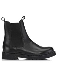 SHOE BIZ COPENHAGEN Katavia Leather Chelsea Boots - Black