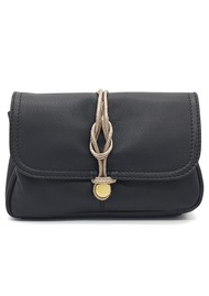 NOOKI Delfine Leather Clutch - Black