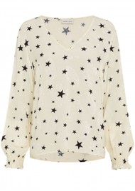 FABIENNE CHAPOT Valerie Warm White Top - Starry Night