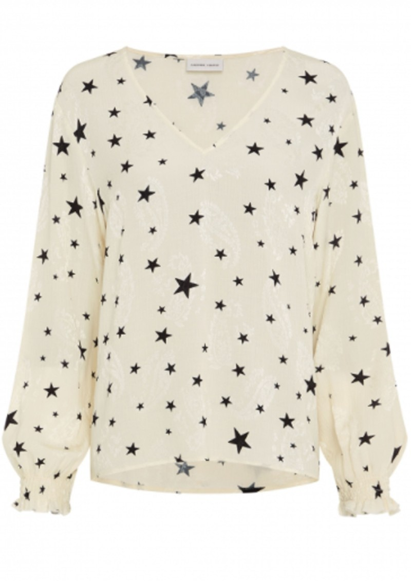FABIENNE CHAPOT Valerie Warm White Top - Starry Night  main image