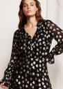 FABIENNE CHAPOT Maxime Printed Blouse - Starry Night Gold