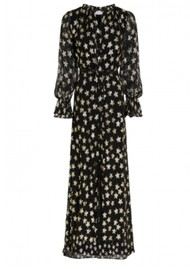 FABIENNE CHAPOT Maxime Printed Maxi Dress- Starry Night Gold