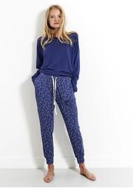 STRIPE & STARE Lounge Pant - Starry Night