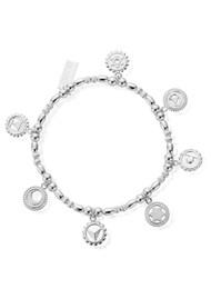 ChloBo Positive Vibes Bracelet - Silver