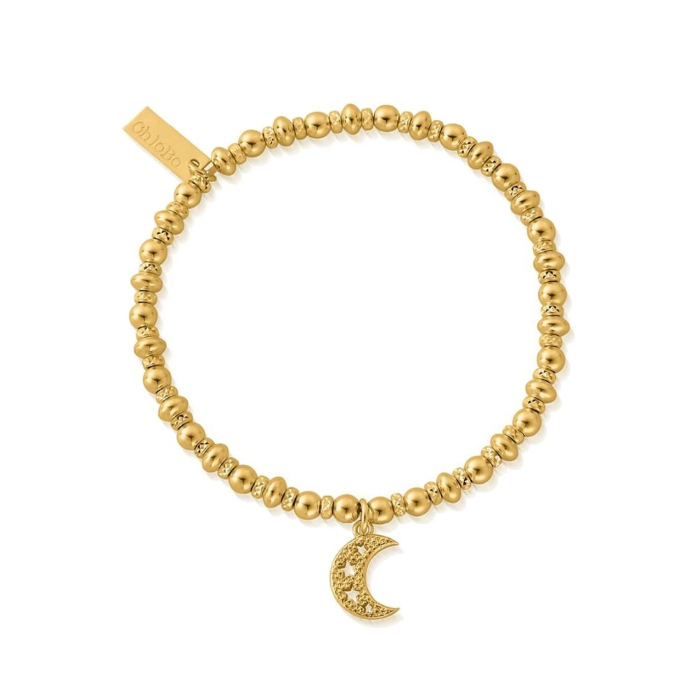 Didi Sparkle Starry Moon Bracelet - Gold