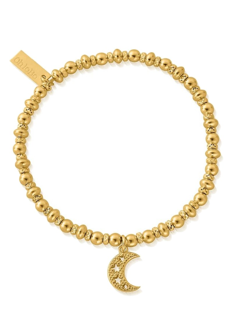 Didi Sparkle Starry Moon Bracelet - Gold main image