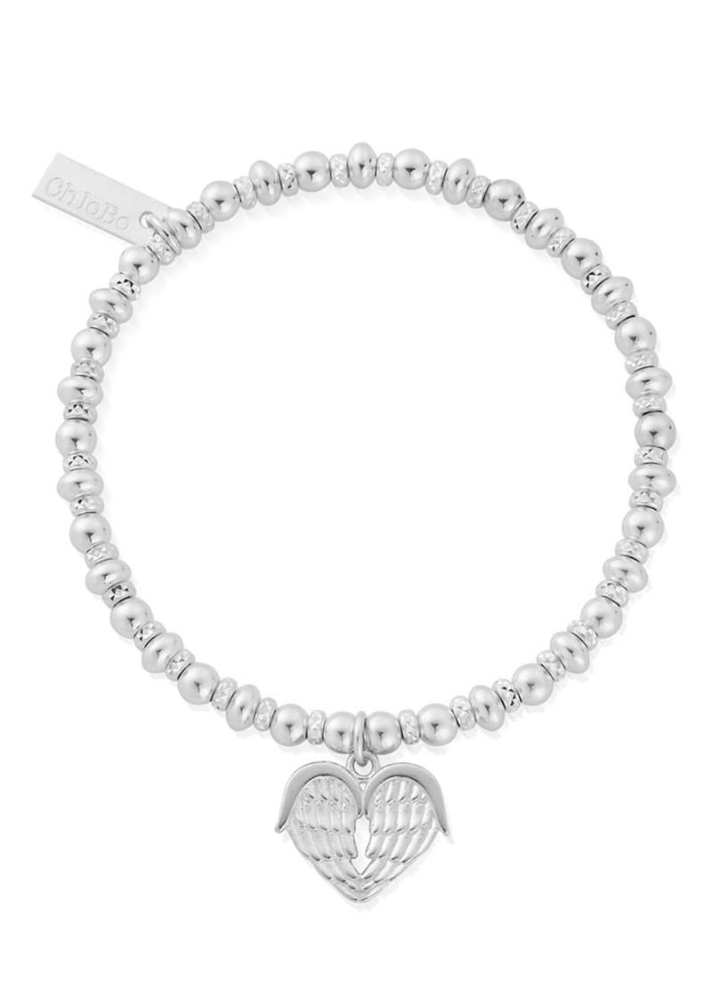 ChloBo Didi Sparkle Heavenly Heart Bracelet - Silver main image