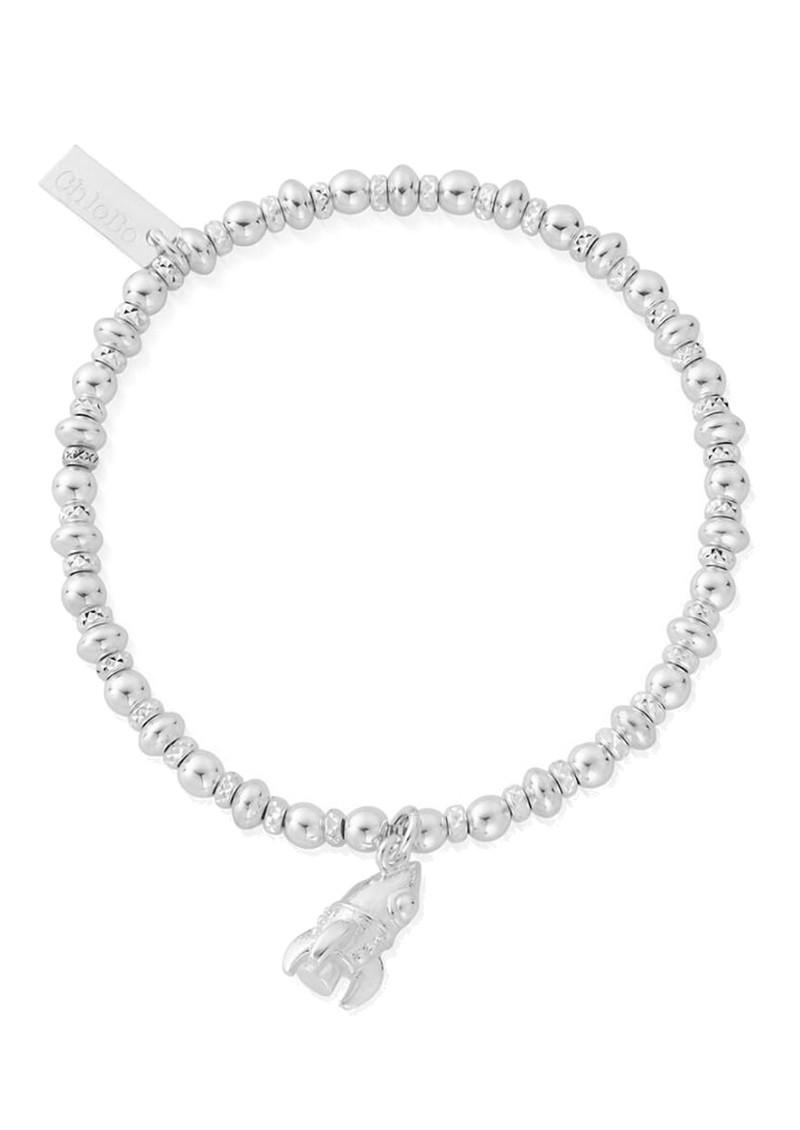 ChloBo Didi Sparkle Rocket Bracelet - Silver main image