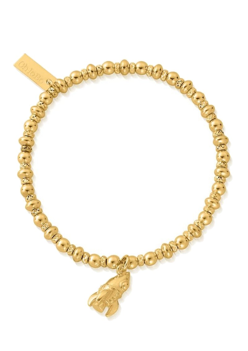 ChloBo Didi Sparkle Rocket Bracelet - Gold main image