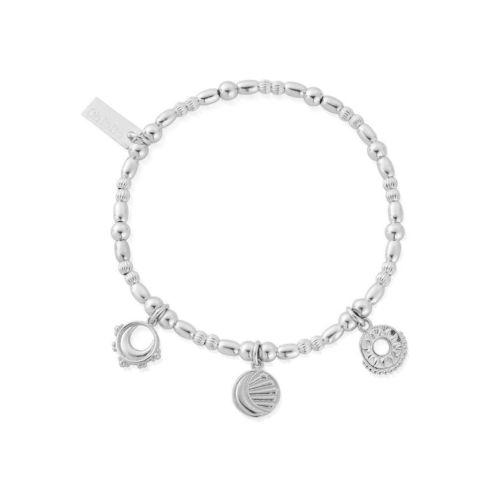 Triple Skies Bracelet - Silver