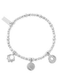 ChloBo Triple Skies Bracelet - Silver