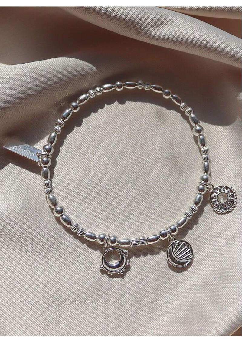 ChloBo Triple Skies Bracelet - Silver main image