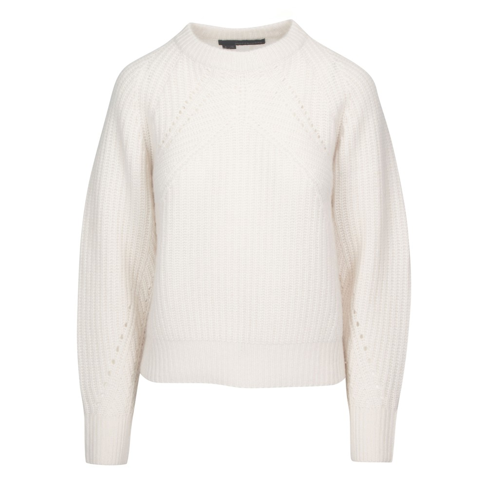 Sage Cashmere Sweater - Chalk