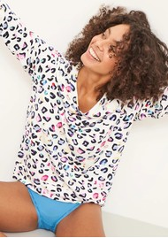 STRIPE & STARE Essential Sweatshirt - Multi Leopard