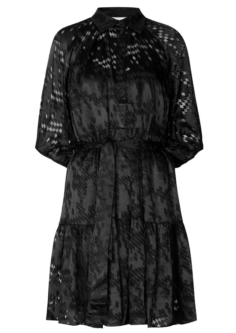 SECOND FEMALE Harlie Dress - Black main image