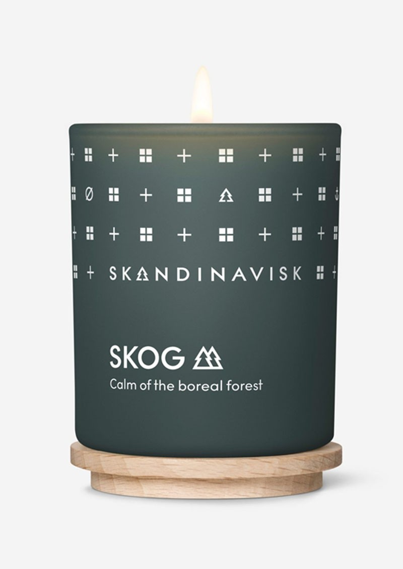 Mini 65g Scented Candle - Skog main image