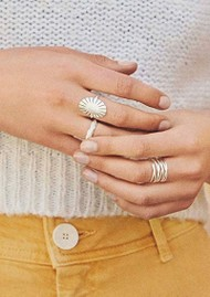 PERNILLE CORYDON Paris Ring - Silver