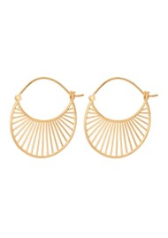 PERNILLE CORYDON Large Daylight Earrings - Gold