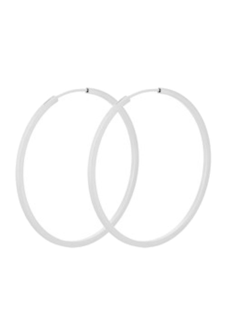 PERNILLE CORYDON Small Orbit Hoops - Silver main image
