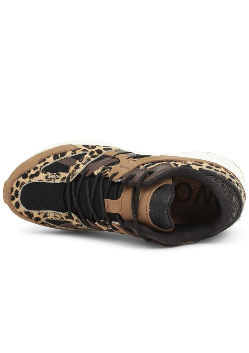 WODEN Eve Animal Fifty Trainers - Leopard main image