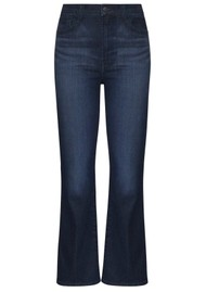 J Brand Franky High Rise Cropped Bootcut Jeans - Concept