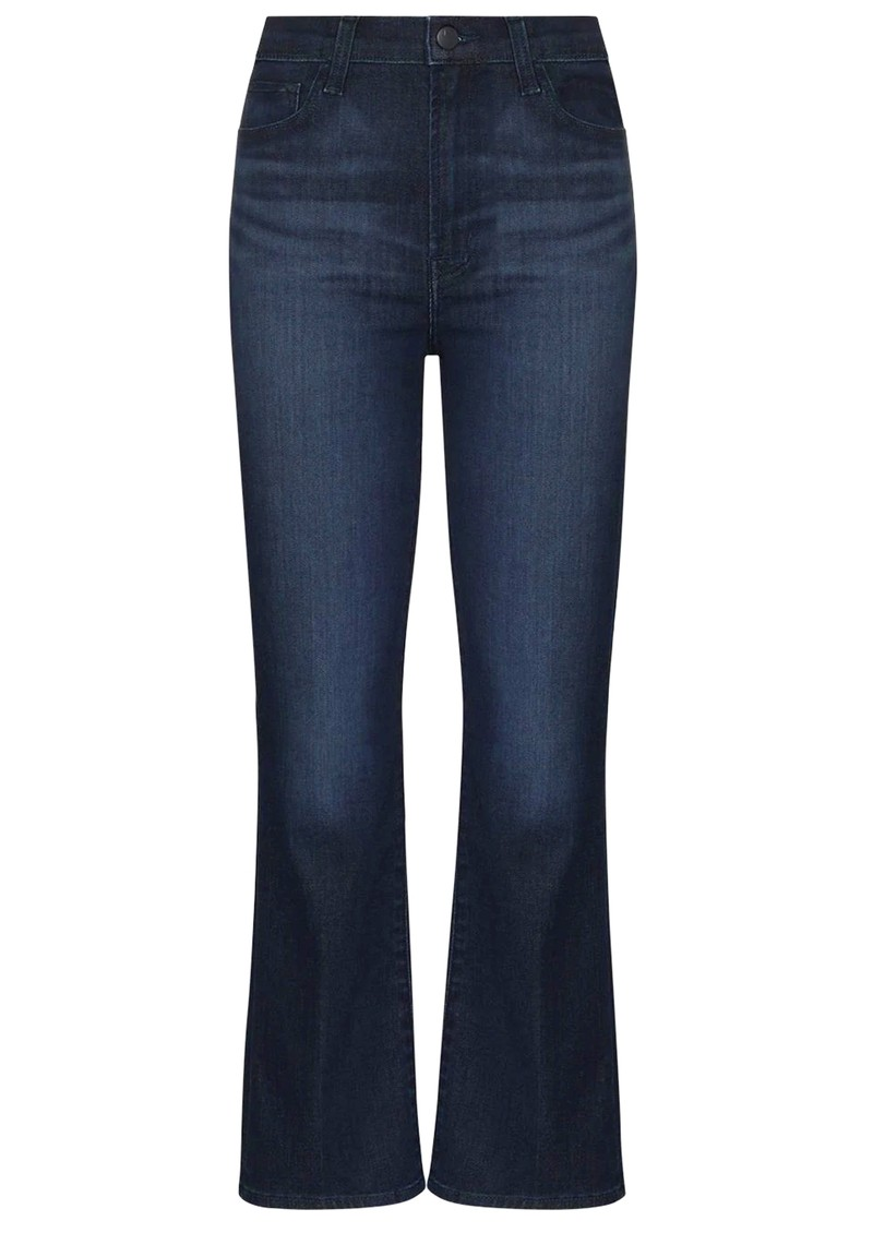 J Brand Franky High Rise Cropped Bootcut Jeans - Concept main image
