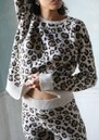 Cashmere Leopard Sweater - Brown Leopard additional image