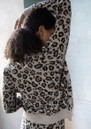 RAGDOLL Cashmere Leopard Sweater - Brown Leopard