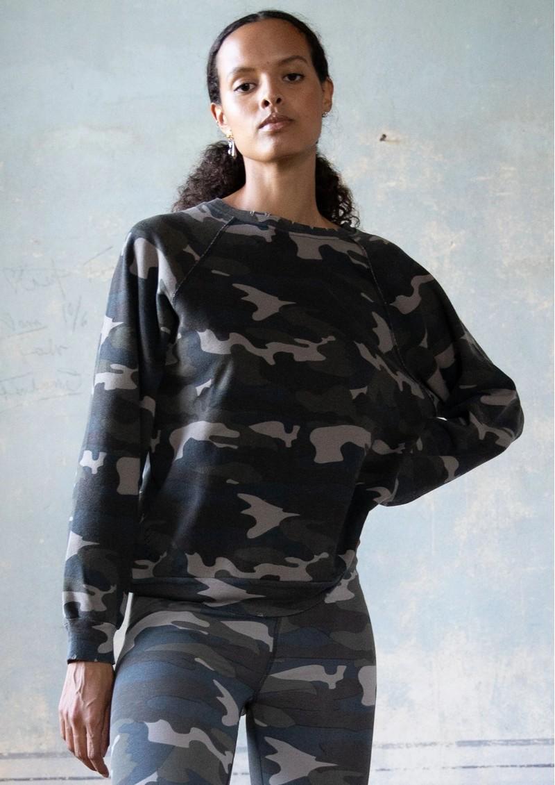 RAGDOLL Vintage Sweatshirt - Camo Army main image