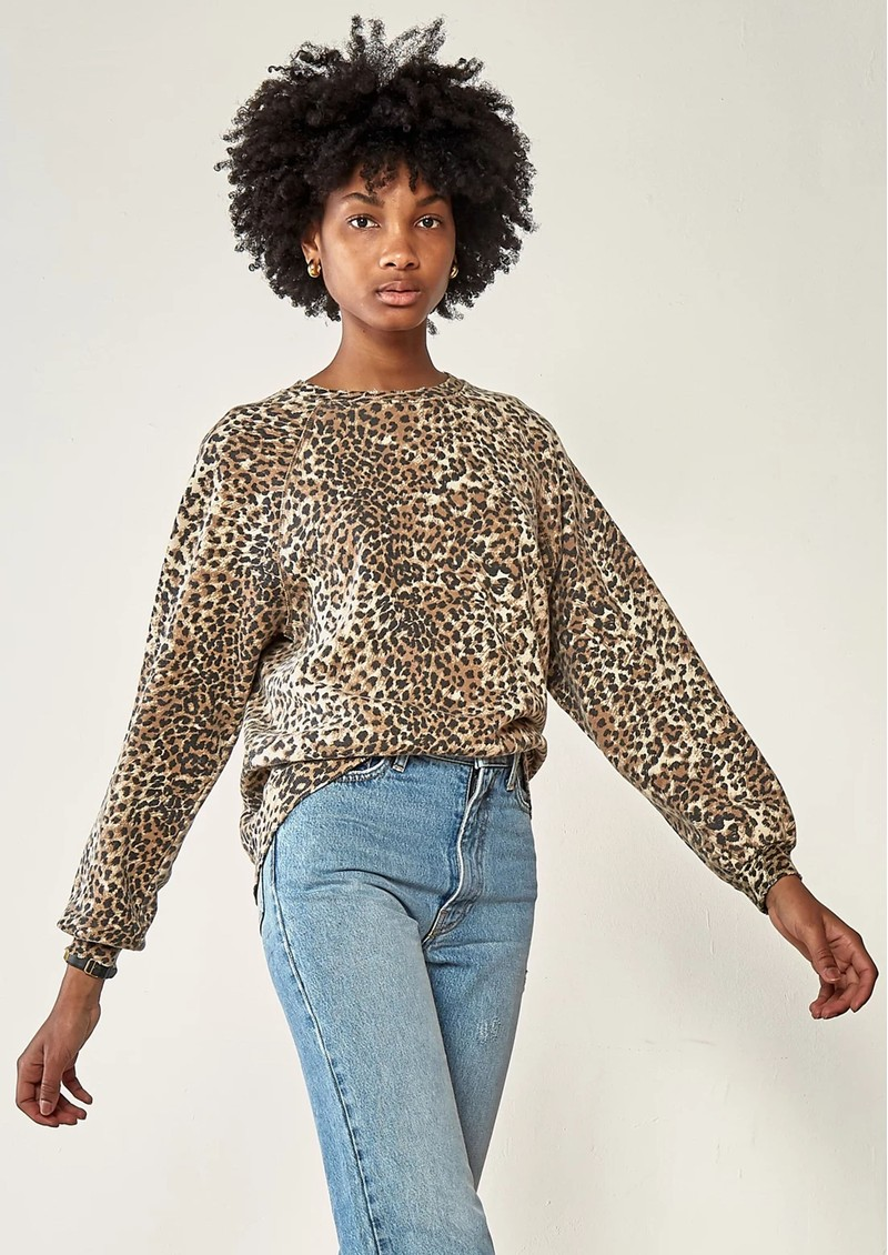 Vintage Sweatshirt - Brown Leopard main image