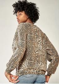 RAGDOLL Vintage Sweatshirt - Brown Leopard