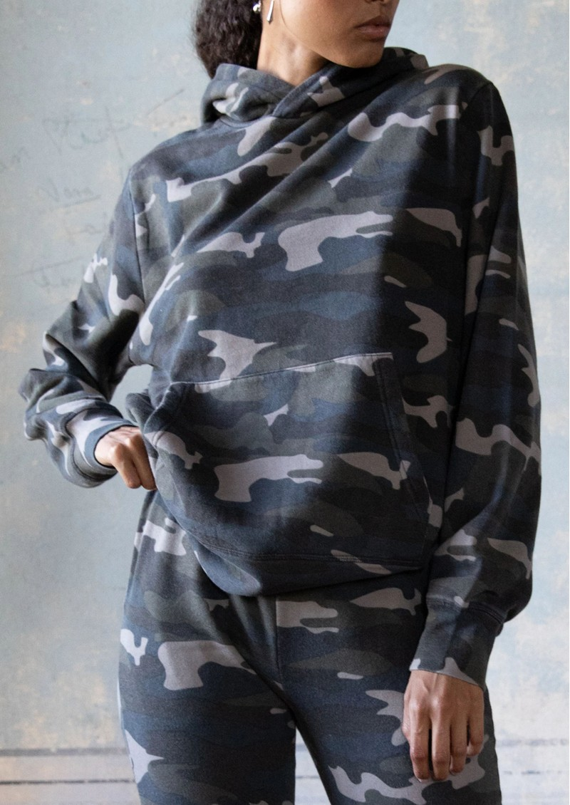 RAGDOLL Oversized Hoodie - Camo Army main image