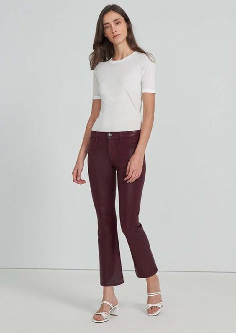 J Brand Selena Mid Rise Boot Cut Coated Jeans - Stellar Courant main image