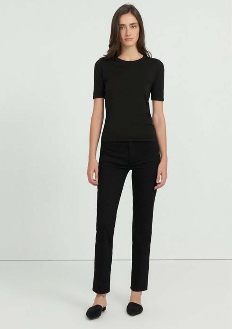 J Brand Teagan High Rise Straight Leg Jeans - Awniks main image