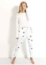 STRIPE & STARE Lounge Pant - Pink Star